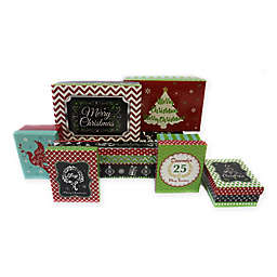 7-Piece Blackboard Rectangular Gift Box Set