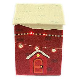 2-Piece LED Christmas House Gift Box Set