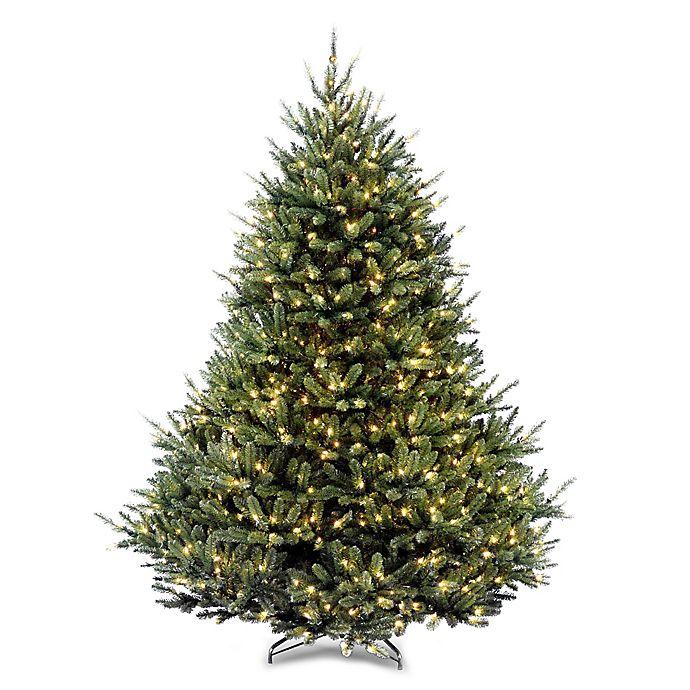 Fraser Fir Christmas Trees: National Tree Company® 7.5-Foot Pre-Lit Fraser Fir