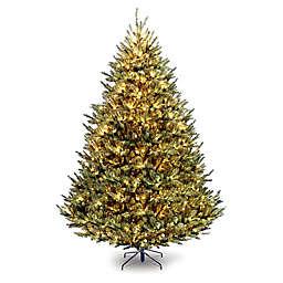 National Tree Company 9-Foot Pre-Lit Fraser Fir Christmas Tree