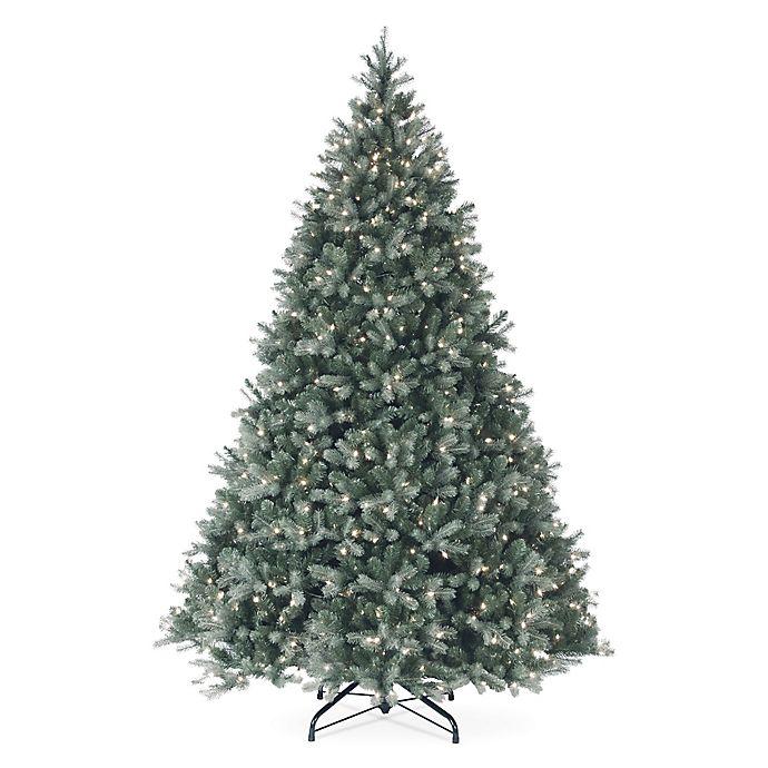 Alternate image 1 for National Tree Company Pre-Lit Douglas Blue Fir Christmas Tree