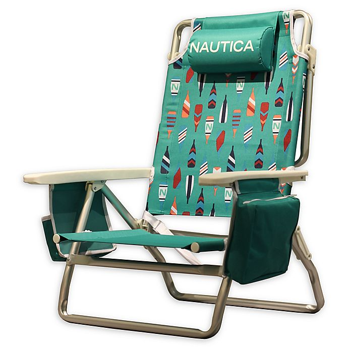 88322c7f06 Nautica® 5-Position Beach Chair | Bed Bath & Beyond