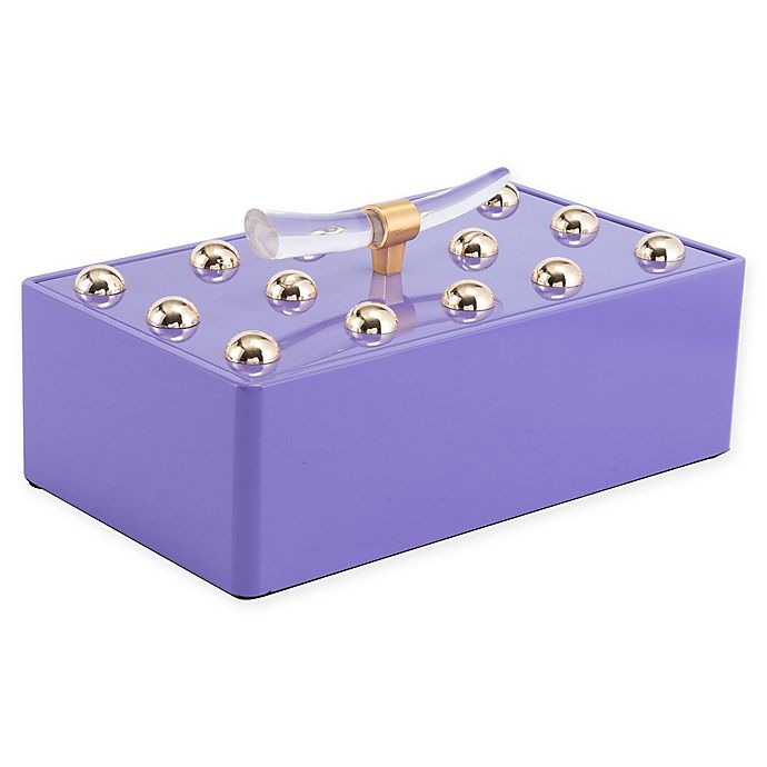 Alternate image 1 for Zuo® Modern Mora Large Decorative Box in Violet