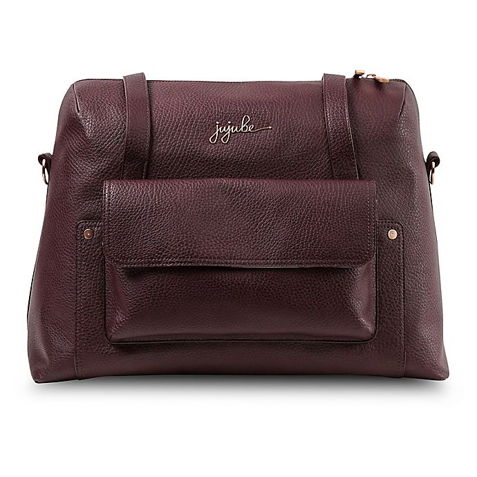 Alternate image 1 for Ju-Ju-Be® Wherever Weekender Diaper Bag in Plum