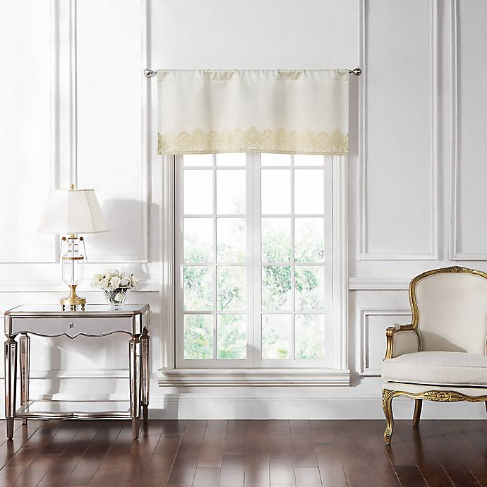 Alternate image 1 for Waterford® Merrill Window Valance in Gold
