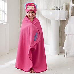 Embroidered Mermaid Kids' Hooded Bath Towel