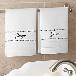 You Name It Personalized Guest Towel Set