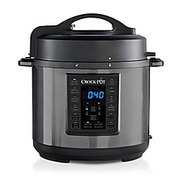 Crock-Pot® 6-qt Express Crock Multi-Cooker in Black Stainless