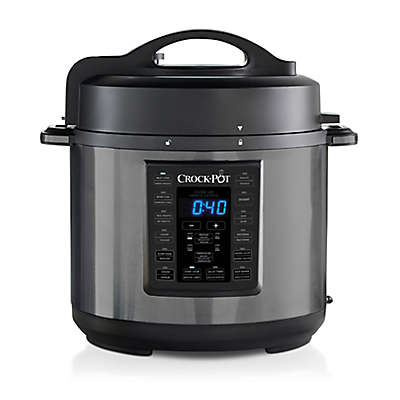 Crock-Pot® 6 qt. Express Crock Multi-Cooker Cooker in Black