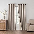 Draftblocker Easton 84-Inch Grommet Room Darkening Window Curtain Panel in Linen