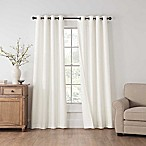 Draftblocker Easton 84-Inch Grommet Room Darkening Window Curtain Panel in White