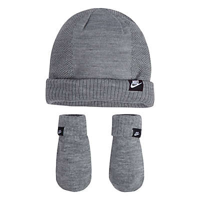 Nike® Grow With Me Hat and Mitten Set