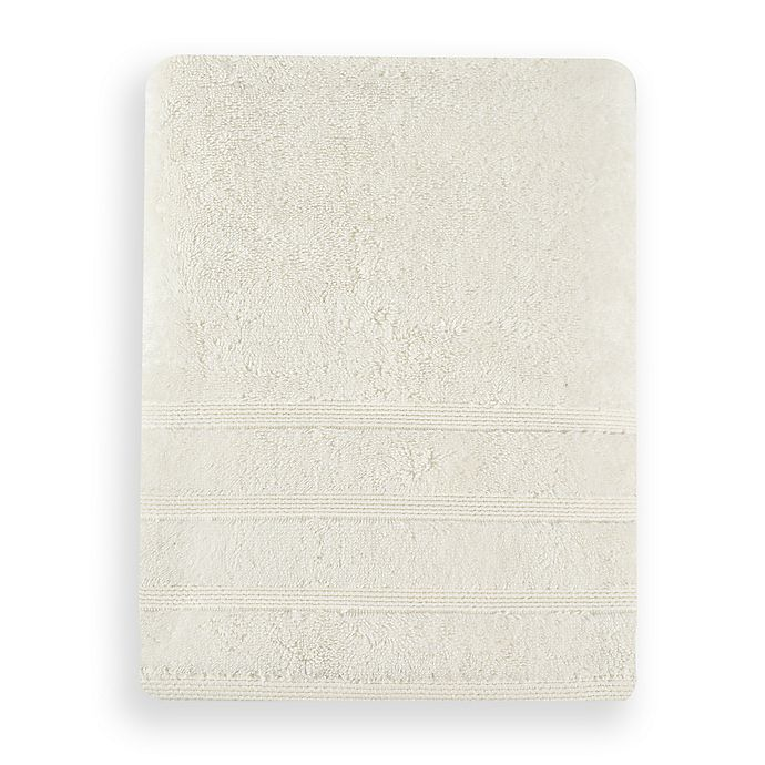 Alternate image 1 for UGG® Cleo Bath Towel in Snow
