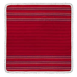 Enchante Home Bondie Square Beach Towel in Red