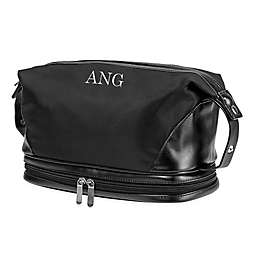 Cathy's Concepts Microfiber Toiletry Bag in Black