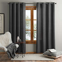 UGG® Olsen 84-Inch Grommet Window Curtain Panel in Charcoal