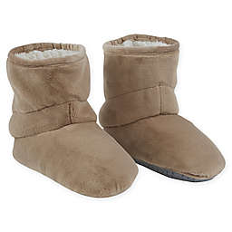 Therapedic® Size Small/Medium Unisex Weighted Slippers in Taupe