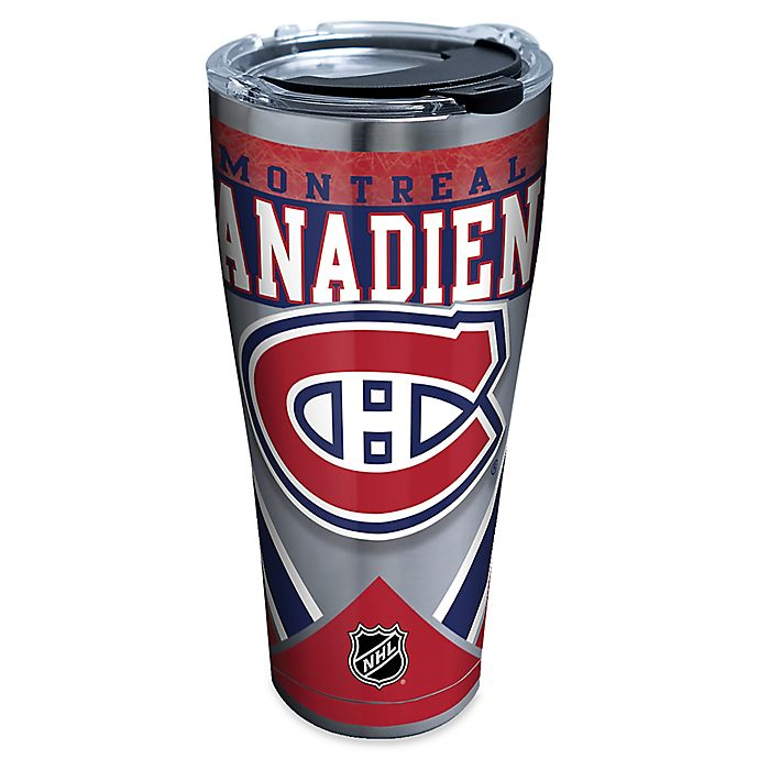 Alternate image 1 for Tervis® NHL Montreal Canadiens 30 oz. Stainless Steel Tumbler with Lid