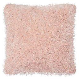 Laura Ashley® Claudia Plush Shag Square Throw Pillow