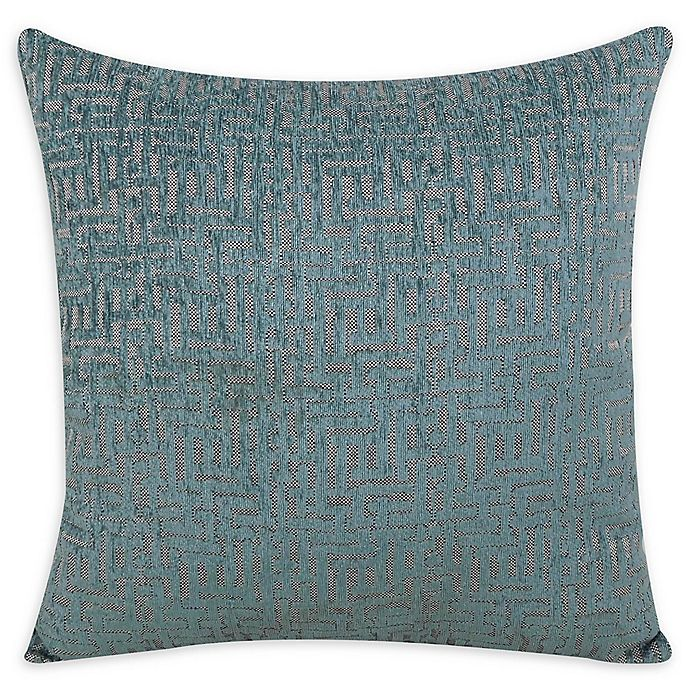 Alternate image 1 for Jian Square Throw Pillow in Mineral