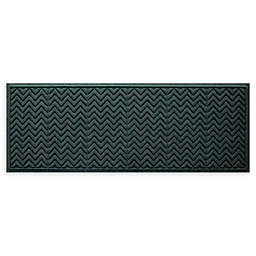 """Weather Guard™ Chevrons 22"""" x 60"""" Runner in Evergreen"""