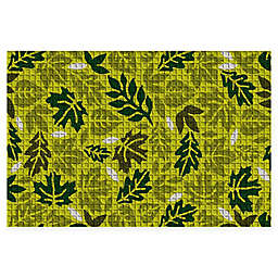 "Weather Guard™ Forest Leaves 23"" x 35"" Door Mat"