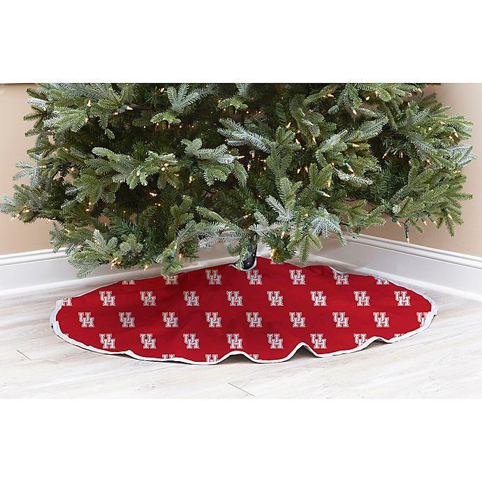 University of Houston Christmas Tree Skirt | Bed Bath & Beyond