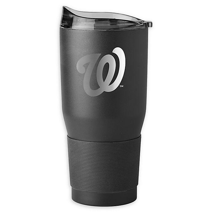 Alternate image 1 for MLB Washington Nationals 30 oz. Premium Powder Coated Ultra Tumbler
