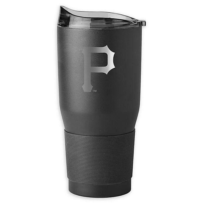 Alternate image 1 for MLB Pittsburgh Pirates 30 oz. Premium Powder Coated Ultra Tumbler