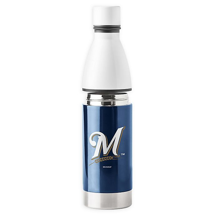 Alternate image 1 for MLB Milwaukee Brewers 25 oz. Universal Bottle