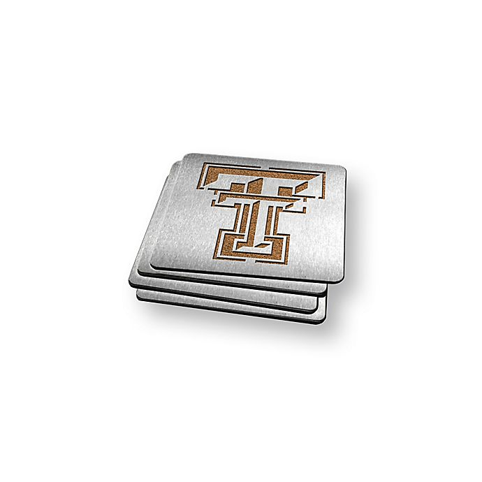 Alternate image 1 for Texas Tech University 4-Piece Boaster Coasters Set