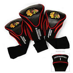 NHL Chicago Blackhawks 3-Pack Golf Club Headcovers