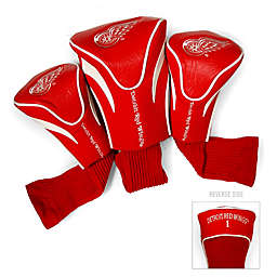 NHL Detroit Red Wings 3-Pack Golf Club Headcovers