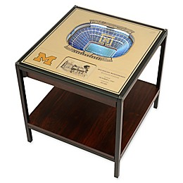 University of Michigan 25-Layer Lighted Stadium View Table