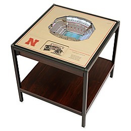University of Nebraska 25-Layer Lighted Stadium View Table