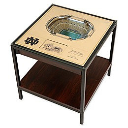 University of Notre Dame 25-Layer Lighted Stadium View Table