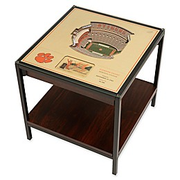 Clemson University 25-Layer Lighted Stadium View Table