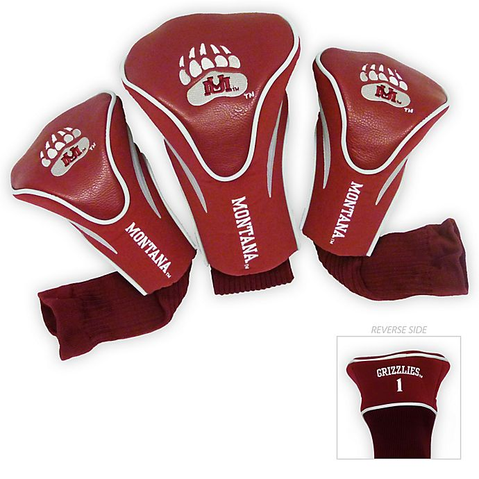 Alternate image 1 for Collegiate 3-Pack Golf Club Headcovers Collection