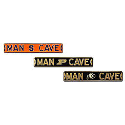 Collegiate Man Cave Metal Street Sign Collection