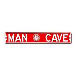 University of Alabama Man Cave Metal Street Sign