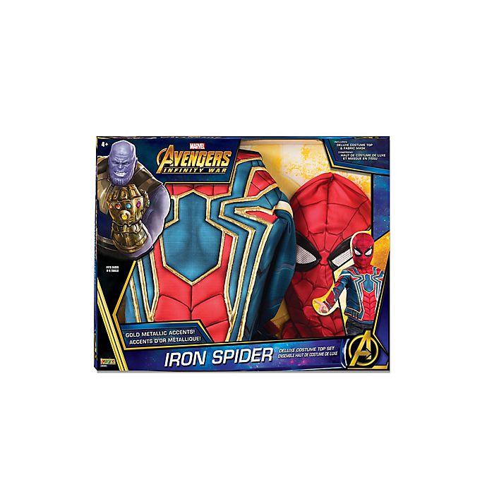 Alternate image 1 for Marvel® Spider-Man Iron Spider One-Size Child's Halloween Costume