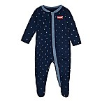 Levi's® Size 3M Letter Toss Print Coveralls in Navy