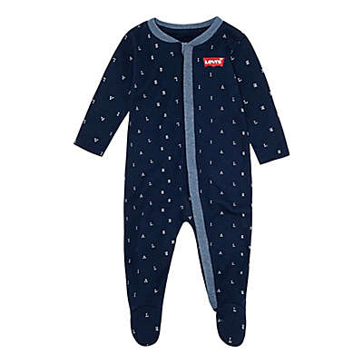 Levi's® Letter Toss Print Coveralls in Navy