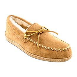 Minnetonka® Men's Sheepskin Hard Sole Moccasin Slipper