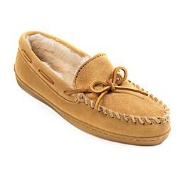 Minnetonka Pile Lined Hardsole Women's Slippers