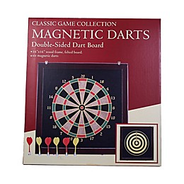 John N. Hansen Co. Classic Magnetic Darts Double-Sided Dart Board