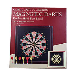 John N. Hansen Co. Classic Magnetic Darts Double-Sided Dart Board