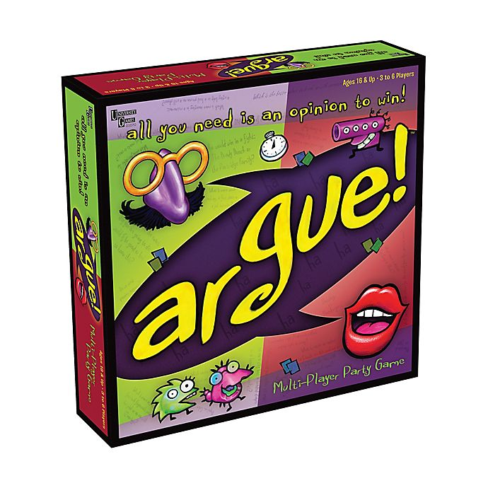 Alternate image 1 for University Games Argue! Board Game