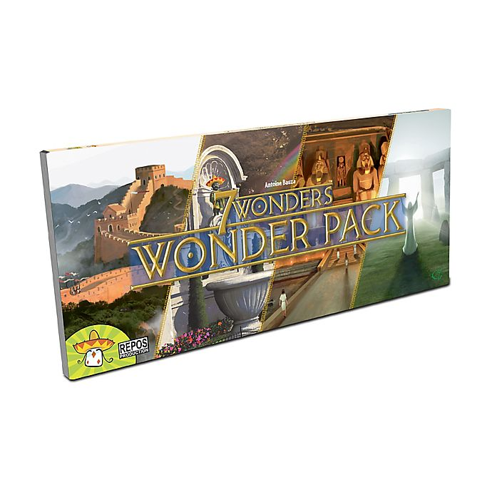 Alternate image 1 for Asmodee Editions 7 Wonders Strategy Game: Wonder Pack Expansion