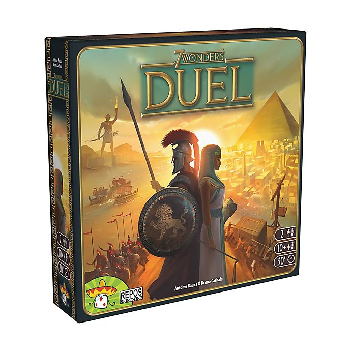 Alternate image 1 for Asmodee Editions 7 Wonders Duel Strategy Game